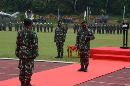 Dankodiklat TNI Buka Pendidikan Pertama Perwira Prajurit Karier TA 2021